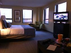 room at The hotel corner suite