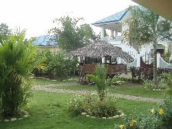 cosy jungle hut