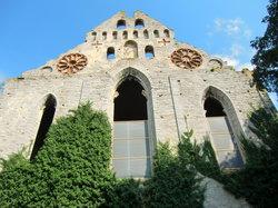 セントニコライ教会の廃墟