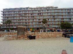 playa moreia from s,illot beach