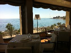 Restaurant with stunning views