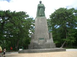 Ryoma Sakamoto Bronze Statue