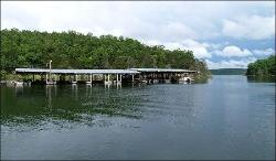Our private boat dock