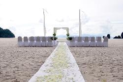 Wedding Ceremony Setup - Absolutely Gorgeous!