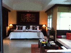 Garden villa room