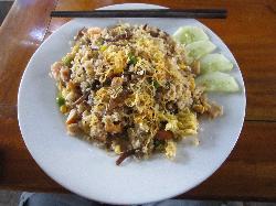 Fried Rice w/ Shrimp