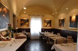 Locanda Viani breakfast room.