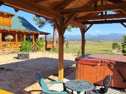 View from patio & hot tub
