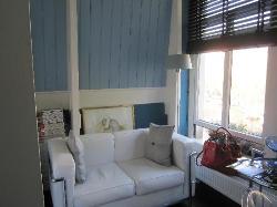 Blue Room - sitting area