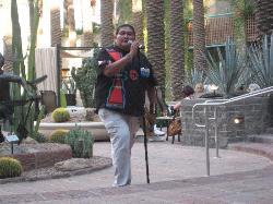 Native American Singer