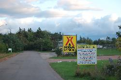 The Campground Entrance