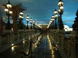 walkway on top of paris casino