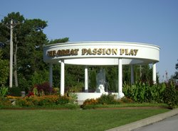 Entrance to the Passion Play area