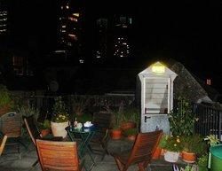Dachgarten im Hotel Nizza