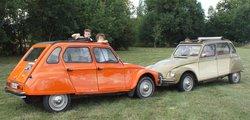 Escapade en vehicules anciens