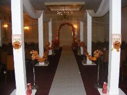 banquet room wedding
