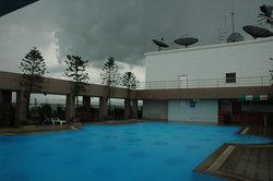 La piscine du Par Hotel
