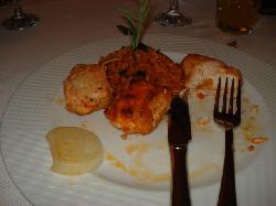 My nasty chicken kebab!
