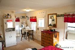 Interior of Cottage 4