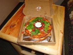 Navajo Taco Pizza - YUM!