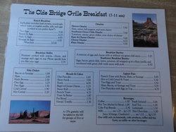 Olde Bridge Grill Cafe