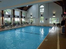 gepflegter Indoor Pool