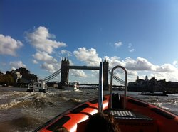 tower bridge approaching (quickly)