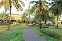 Chilren Pool area and Leela grounds