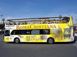 Roma Cristiana Hop On Hop Off Bus