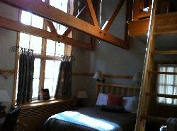 also a loft in the room with 3rd bed