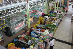 帕皮提街道市场