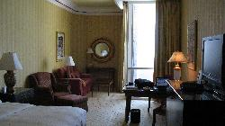My room at the Ritz Carlton
