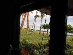 view from our oceanfront ocean view bure