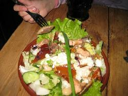 Salad with Various kinds of Fish