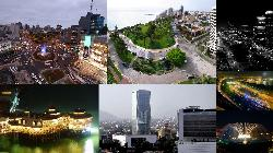 collage of various city attractions