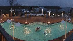 Amazing indoor/outdoor pool & hot tub