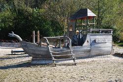 Piratenspielplatz am LGA Gelande