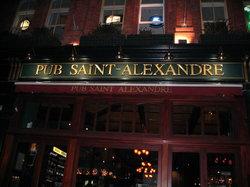 Pub Saint-Alexandre