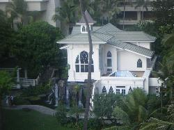 the chapel from our room