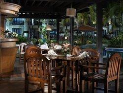 Poolside Terrace Bar at Sheraton Lampung Hotel