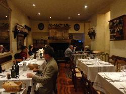 restaurant interior view