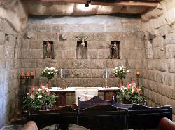 Chapel with Inca walls