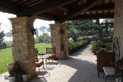 La Palazzetta porch