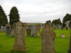 The churchyard cemetery