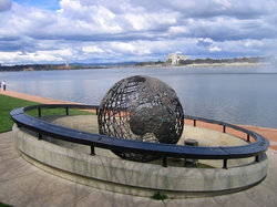 Captain Cook Memorial Globe