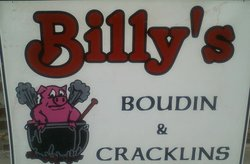 Billy's Boudin & Cracklins