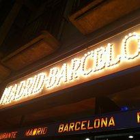 Restaurant Madrid-Barcelona