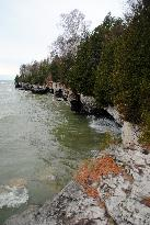 The WI coastline