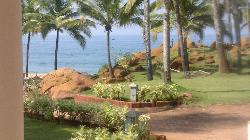 Perfect view of the beach from the comforts of your room