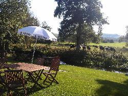Beer Garden a touch of Hevan